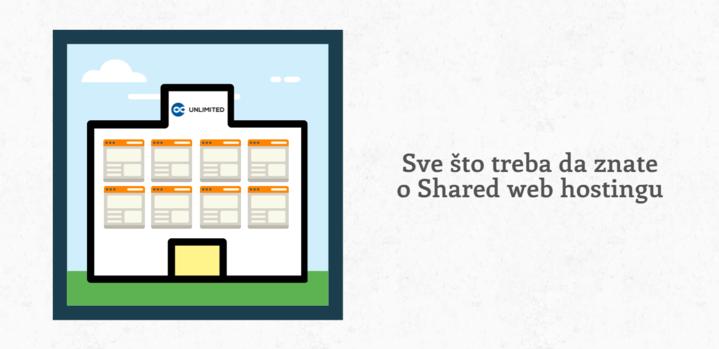 Sve što treba da znate o Shared web hostingu