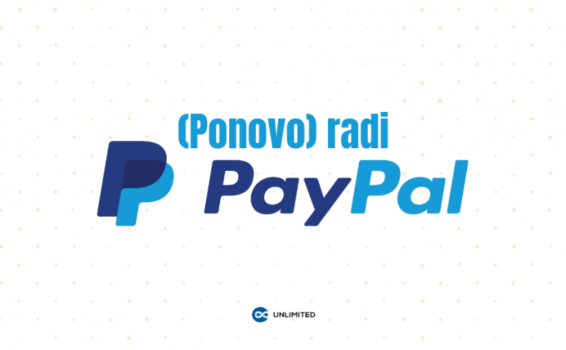 Ponovo radi PayPal!