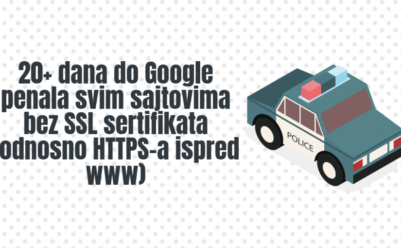 25 dana do Google penala svim sajtovima bez SSL sertifikata