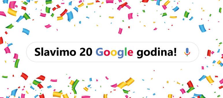 Slavimo 20 Google godina!