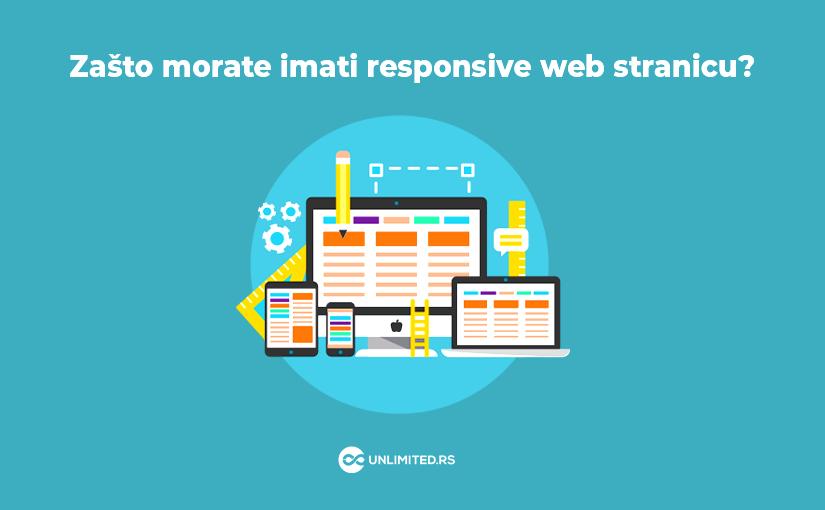 Zašto morate imati responsive web stranicu?