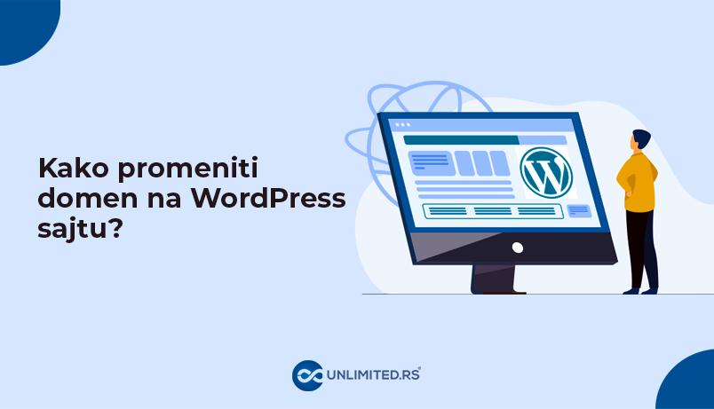 Kako promeniti domen na WordPress sajtu?