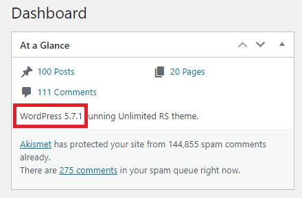 Kako proveriti koju WordPress verziju koristite?